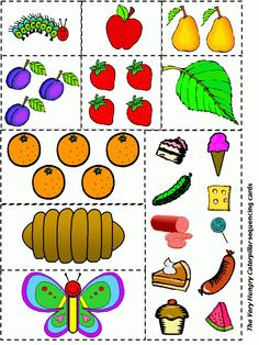 Eric Carle Very Hungry Caterpillar LOTS of activities Preschool Books, Kindergarten Literacy, Literacy Activities, Preschool Activities, Eric Carle, Camille La Chenille, Chenille Affamée, The Very Hungry Caterpillar Activities, Caterpillar Art