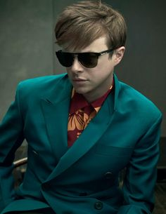 Dane DeHaan for Prada Men's Spring/Summer 2014 Ad Campaign shot by Annie Leibovitz.