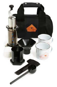 Stumptown portable coffee kit...yes please!