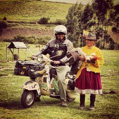 #vespa #ecuador #páramo