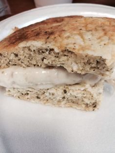 """5 Minute Healthy Flat Bread (Dukan Diet/21 Day Fix)! """"Perfect No Flour, Low Carb Bread! I can't live without it! Try it! It's so yummy!! Can't even tell it is a dieting bread!""""  @allthecooks #recipe"""