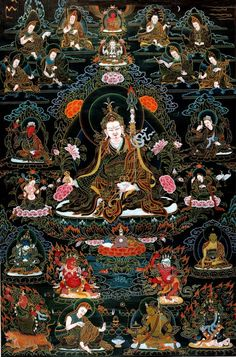 Padmasambhava - Guru Rinpoche and his 8 forms