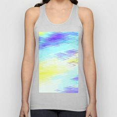 Re-Created Vertices No. 30 Unisex  #Tank #Top by #Robert #S. #Lee - $22.00