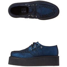 Tuk - Mondo Lo Creepers ($48) ❤ liked on Polyvore