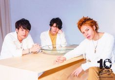 KAT-TUN photoshoot for10ks Concert