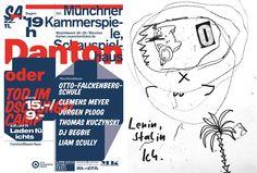 Danton oder Tod im Dschungelcamp: Theater und Live-Cut-up mit Jürgen Ploog, Thomas Kuczynski, Liam Scully u. a. (Sa., 22.11.2014, 19 Uhr) www.literaturfest-muenchen.de/navi2/forumautoren/