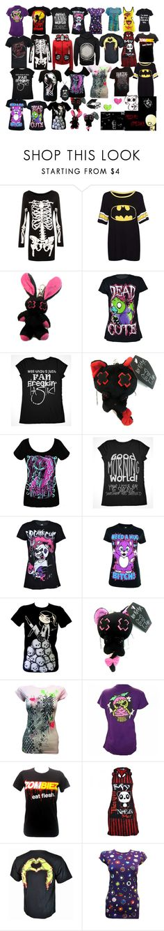 """""""FAN-FREAKIN-TASTIC"""" by hollywoodundeadspanda ❤ liked on Polyvore featuring WearAll and Goodie Two Sleeves"""