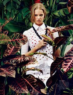 Marloes Horst for Vogue Japan Wedding SS 2013 by René Habermacher