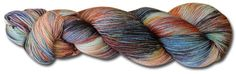 Storm at Sunset - John Q Impressionista, 4ply Merino.  3 other colourways.  Knitworld
