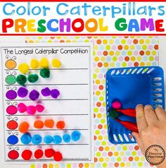 Color Sorting Caterpillars Game