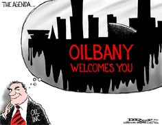 "An oil heating facility at the Port of Albany, and the Pilgrim Pipeline, both serve one purpose: moving crude oil through our communities and off to the global market as quickly as possible. The weight of these two proposals cannot be ignored, as the pipeline and the port are part of a grand scheme we can easily call ""Oilbany."" Take action now at http://p2a.co/19GUKVL, and tell Governor Cuomo to reject these proposals today!  #ActOnClimateNY"