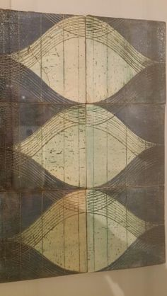 Gwilym thomas, six tiles Birmingham Museum, Tiles, Abstract, Artwork, Room Tiles, Summary, Work Of Art, Auguste Rodin Artwork, Tile
