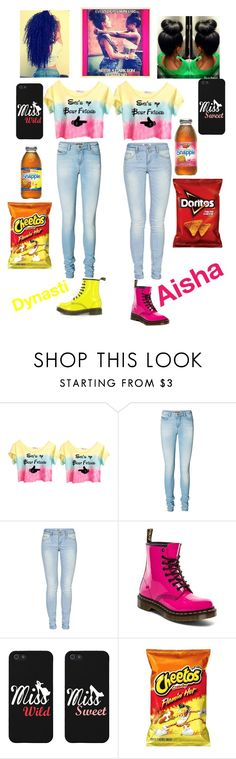 """Me and my big sis"" by mz-nbt ❤ liked on Polyvore featuring Retrò, Vero Moda, ONLY and Dr. Martens"