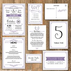 FREE Printable Wedding Program | ahandcraftedwedding.com #DIY #wedding