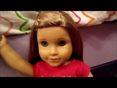 How to do a waterfall braid on your American Girl doll! :) - YouTube