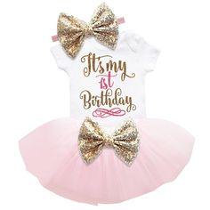 $7.68 (Buy here: https://alitems.com/g/1e8d114494ebda23ff8b16525dc3e8/?i=5&ulp=https%3A%2F%2Fwww.aliexpress.com%2Fitem%2FNewborn-Baby-Girls-Clothes-1st-Birthday-Baby-Bodysuit-Romper-Tutu-Skirt-Outfits-Infant-Clothing-Sets-Baby%2F32792033539.html ) Newborn Baby Girls Clothes 1st Birthday Baby Bodysuit Romper+Tutu Skirt Outfits Infant Clothing Sets Baby Born Christening Gifts for just $7.68