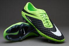 Nike Hypervenom Phantom FG Boots - Lime/White/Black