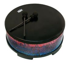 "REMO Gathering Drum, 18"" Diameter, 6.5"" Height, Rainbow Fabric by Remo, http://www.amazon.com/dp/B00203X9JE/ref=cm_sw_r_pi_dp_Y7gosb0E4K9QP"
