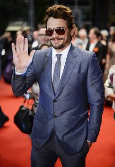 Pin for Later: The Most Glamorous Cannes Film Festival Moments  James Franco kept his shades on for the evening premiere of Borgman in 2013.