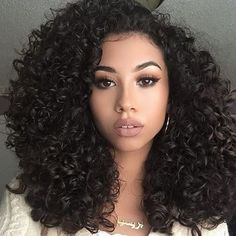 Curly Girl Hairstyles Glamorous Curly Hair Of Girls  Hairstyles  Pinterest  Curly Dark Skin