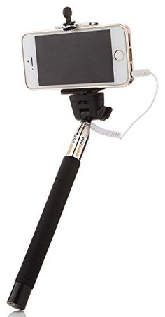 Selfie Stick by StreetSnap - Extendable Self-Portrait Camera Monopod with Built-In Shutter Button and Adjustable Phone Holder for iPhone and Android Smartphones - No Bluetooth, Remote, or Battery Required - 30-Day Risk-Free Money Back Guarantee StreetSnap http://www.amazon.com/dp/B00THMYO9K/ref=cm_sw_r_pi_dp_PF2Gvb15AY9MY