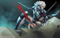 Metal Gear Rising by *HeavyMetalHanzo on deviantART