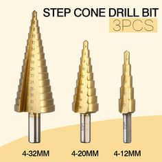 =>>Save on3pcsset HSS Titanium Step Cone Metal Drill Bits 4-12mm 4-20mm 4-32mm Hole Cutting Woodworking Metal Wood Drilling Power Tools3pcsset HSS Titanium Step Cone Metal Drill Bits 4-12mm 4-20mm 4-32mm Hole Cutting Woodworking Metal Wood Drilling Power ToolsCheap...Cleck Hot Deals >>> http://id519073628.cloudns.ditchyourip.com/32661719714.html images