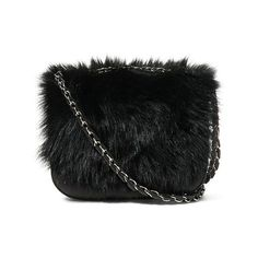 Polo Ralph Lauren Small Shearling Shoulder Bag (395 CAD) ❤ liked on Polyvore featuring bags, handbags, shoulder bags, bolsas, chain shoulder bag, chain strap purse, ralph lauren, shoulder bag purse and shearling handbags