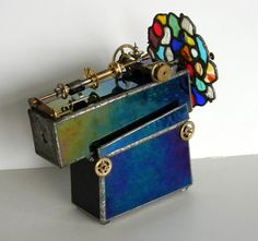 This stained glass kaleidoscope.