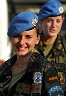 Beautiful russian women army theme simply