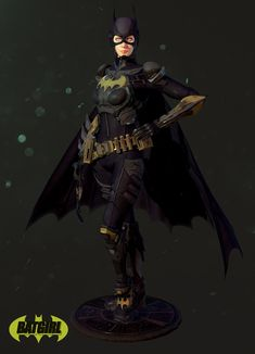 BATGIRL, Hosung Jin on ArtStation at https://www.artstation.com/artwork/batgirl-1d28faf5-f989-4ea1-bcf7-adb9739b9d13