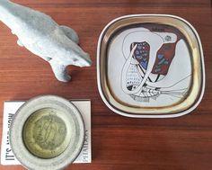 Susana Espinosa Plate Tray Tile Plaque Vintage by CaribeCasualShop