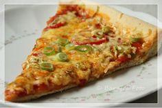 Barafras Kochlöffel: Heute Mittag gibt es Pizza, Pizza ganz einfach :-)