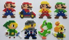 「splatoon perler beads」の画像検索結果