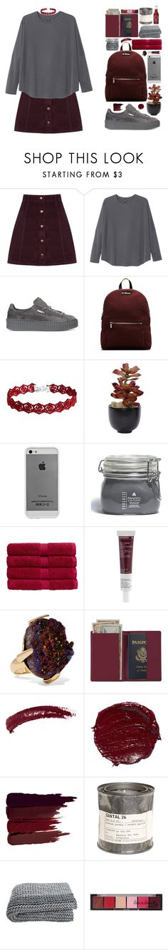 """Без названия #135"" by sinyukovayulya ❤ liked on Polyvore featuring Oasis, Monki, Puma, Dr. Martens, Lux-Art Silks, Case-Mate, Borghese, Christy, Korres and Christopher Kane"