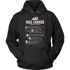 Mail Carrier Shirt - I'm A Mail Carrier