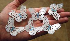 Butterfly Paper Vellum Embellishments by PaperGemsStudio on Etsy, $2.50
