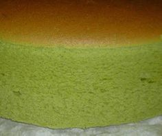 Matcha Japanese Cheesecake.