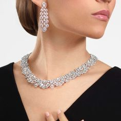 """Paris Capitale Insider's Guide on Instagram: """"From @pariscapitale_jewelry : @chopard Precious Lace #diamonds"""" High Jewelry, Jewelry Accessories, Jewellery, Chopard, Diamonds, Paris, Lace, Instagram, Fashion"""