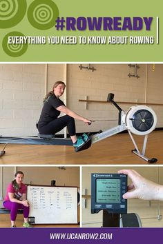 iA fun and hassle-free way to lean basics on how to use the rowing machine. is a online course that teaches you everything you need to know about rowing. So what are you waiting for? Join us as we tackle interesting facts and benefits in t Fat Burning Cardio Workout, Rowing Workout, Cardio Workout At Home, Fun Workouts, Training Motivation, Fitness Motivation Quotes, Fitness Goals, Rowing Technique, Indoor Rowing