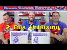 Video Games Monthly (August)- 2 Box opening - YouTube
