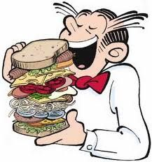 Dagwood! The man and the sandwich.  My father's favorite comic strip.