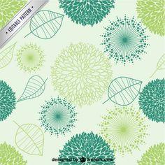 Free Organic vector seamless pattern