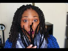 Loc Tutorial; Pipe Cleaner Curls - YouTube
