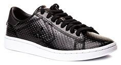 Converse CONS Pro Leather LP Scaled Damenschuhe Sneaker Schwarz 38.5 - Sneakers für frauen (*Partner-Link)