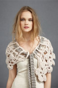 Wenlan: Chunky Crochet Capelett