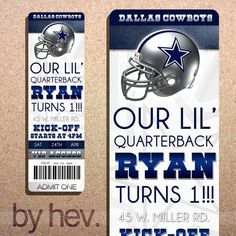 64 best dallas cowboys b day party images on pinterest in 2018 dallas cowboys football party personalized diy birthday by byhev 1500 filmwisefo