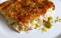 Hearty Chicken and Leek Pie. A recipe from Nigel Slater. Easy Pie Recipes, Chef Recipes, Greek Recipes, Chicken Recipes, Cooking Recipes, Recipies, Dinner Recipes, Greek Cooking, Cooking Time
