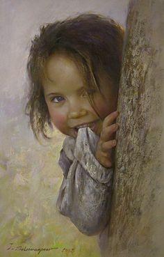 Javad Soleimanpour - Halkın içinden portreler yakalamış ressam... Bir de güzel natürmort çalışmaları var...