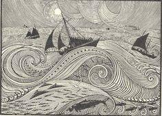 René Quillivic, En pleine mer